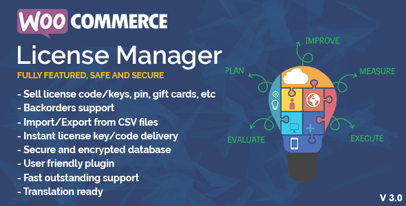 WooCommerce License Manager v4.1.8