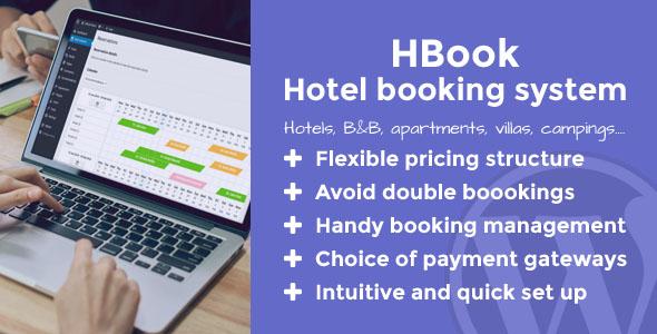 HBook v1.8.9 – Hotel booking system – WordPress Plugin