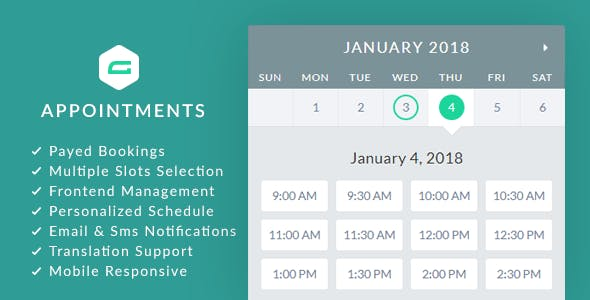 gAppointments v1.9.2 - Appointment booking addon for Gravity Forms