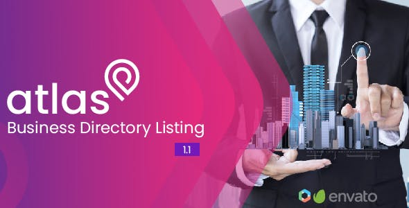 Atlas Business Directory Listing v1.0.1 - nulled