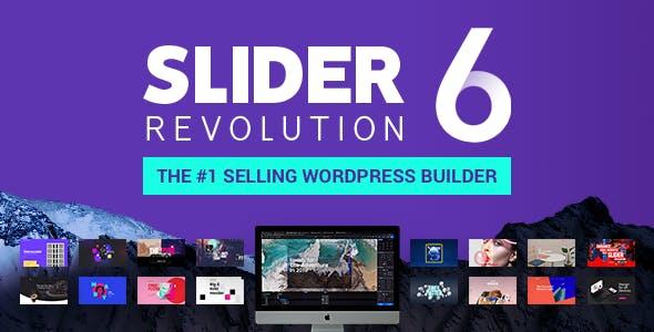 Slider Revolution v6.1.0 – Responsive WordPress Plugin