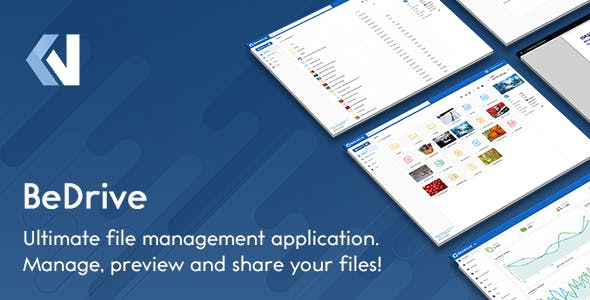 BeDrive v2.1.3 – File Sharing and Cloud Storage