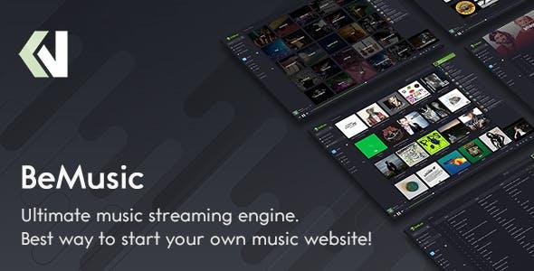 BeMusic v2.5.1 - Music Streaming Engine