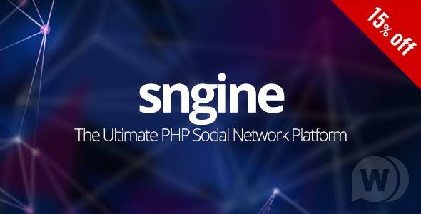 Sngine v2.5.10 – The Ultimate PHP Social Network Platform – nulled