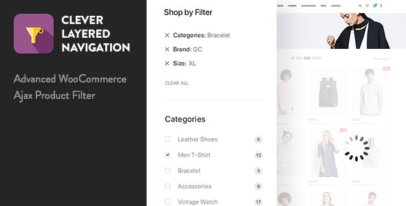 Clever Layered Navigation v1.3.9 - WooCommerce Ajax Product Filter