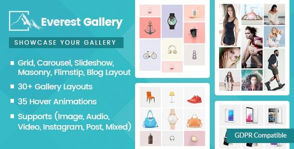 Everest Gallery v1.0.4 – Responsive WordPress Gallery Plugin