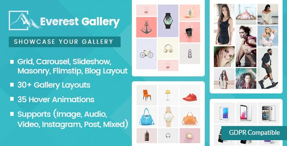 Everest Gallery v1.0.4 - Responsive WordPress Gallery Plugin