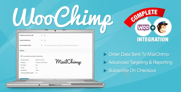 WooChimp v2.2.6 – WooCommerce MailChimp Integration