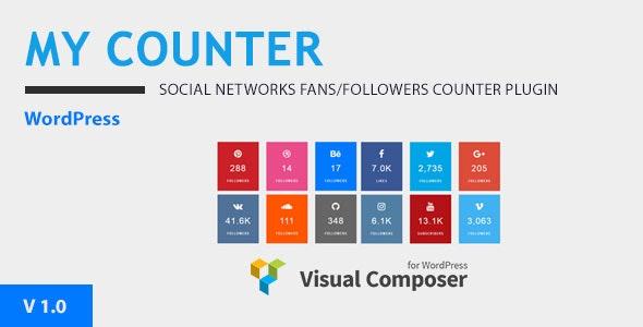 MY-Counter v1.0.0 - Visual Composer Addon & WordPress Widget