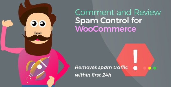 Comment and Review Spam Control for WooCommerce v1.0.5
