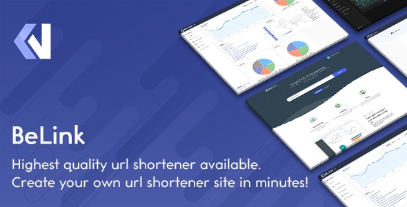 BeLink v1.0.5 - Ultimate URL Shortener