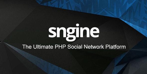 Sngine v2.6 – The Ultimate PHP Social Network Platform – nulled