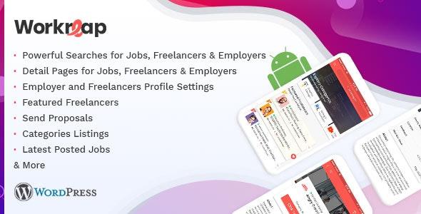 Workreap Android APP v1.0 - WordPress Freelance Marketplace