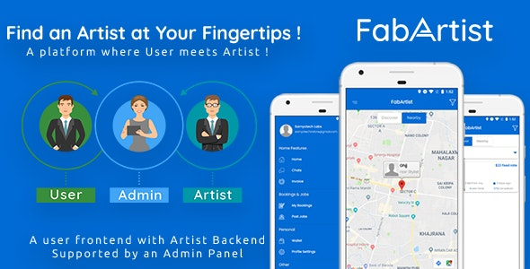 Hire for Work v1.1.5 - Fab Artist Android