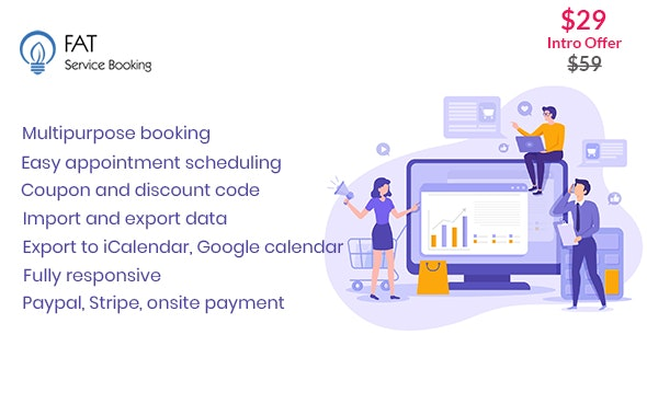 Fat Services Booking v3.6 - Automated Booking and Online Scheduling