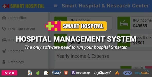 Smart Hospital v2.0 - Hospital Management System