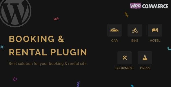 RnB v9.0.1 – WooCommerce Rental & Bookings System