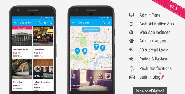Ultimate City Guide App Template v1.5