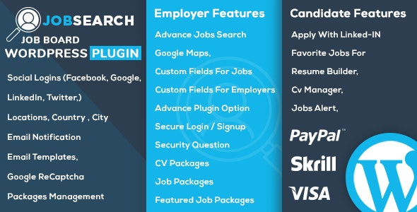 JobSearch v1.6.3 - WP Job Board WordPress Plugin