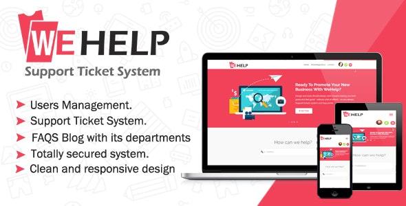 WeHelp v3.5 – Ticket Support System
