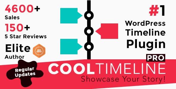 Cool Timeline Pro v3.2 – WordPress Timeline Plugin