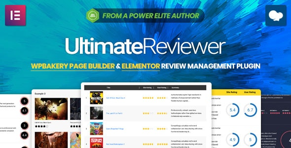 Ultimate Reviewer v2.6.0 - Elementor & WPBakery Page Builder Addon