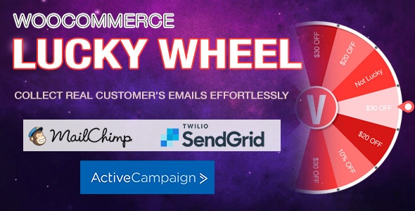 WooCommerce Lucky Wheel v1.0.7.1 – Spin to win