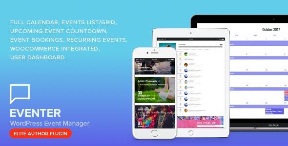 Eventer v3.0 - WordPress Event Manager Plugin