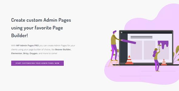 WP Admin Pages PRO v1.8.0