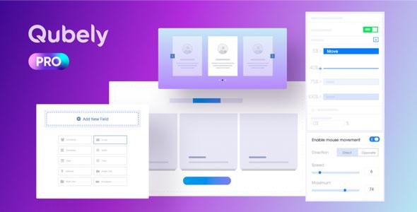 Qubely Pro v1.1.0