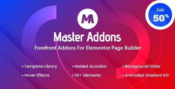 Master Addons for Elementor (Pro) v1.5.3