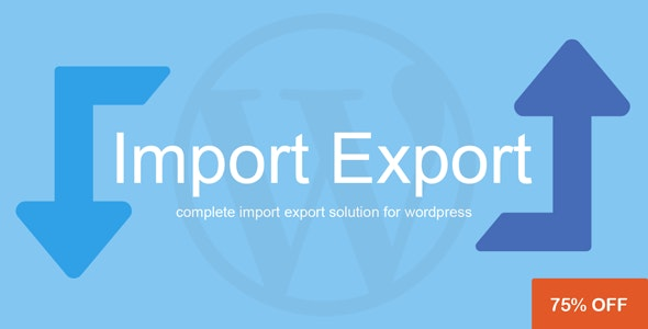 WP Import Export v1.7.0
