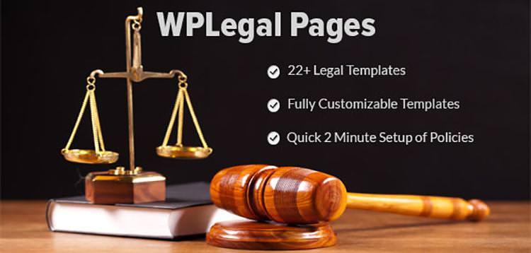 WP Legal Pages Pro v7.6 – WordPress Plugin