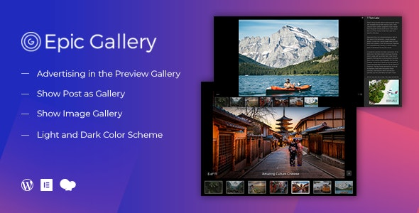 Epic Zoom Gallery v0.0.1 - WordPress Plugin & Add Ons for Elementor & WPBakery Page Builder