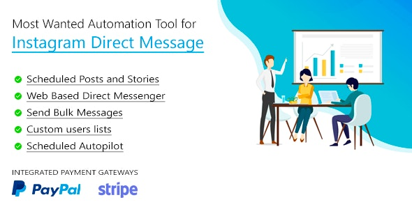 DM Pilot v3.0.7 - Instagram Most Wanted Automation Tool for Direct Message & Scheduled Posts