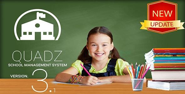 Quadz v3.1 – School Management System