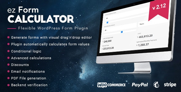 ez Form Calculator v2.13.0.2