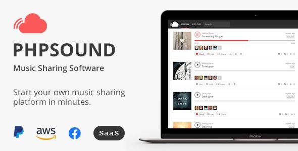 phpSound v6.5.0 - Music Sharing Platform - nulled