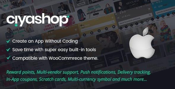 CiyaShop v4.6 - Native iOS Application based on WooCommerce