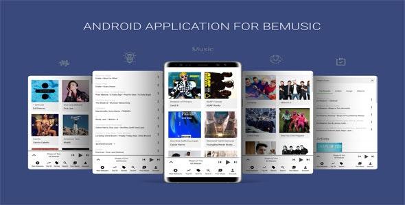 Android Application For BeMusic v6.0