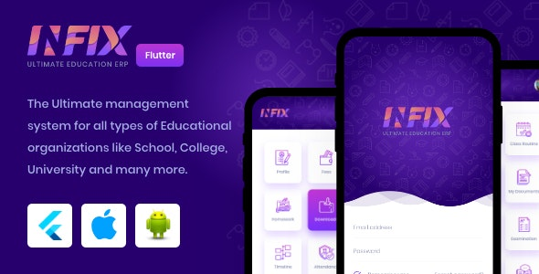 InfixEdu v1.0.3 - Open Source Flutter for Android & iOS