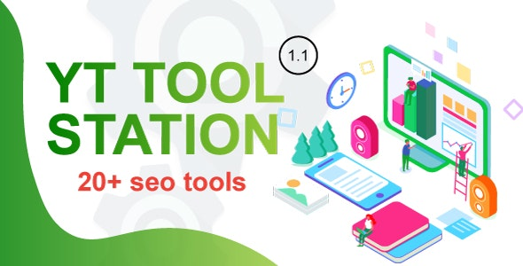 YT Tool Station v1.1 – PHP Script With Admin Panel