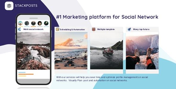 Stackposts v7.2.0 - Social Marketing Tool