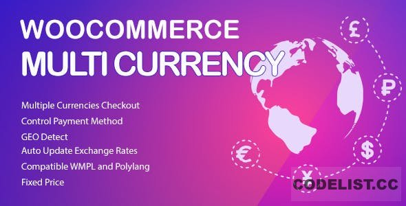 WooCommerce Multi Currency v2.1.11