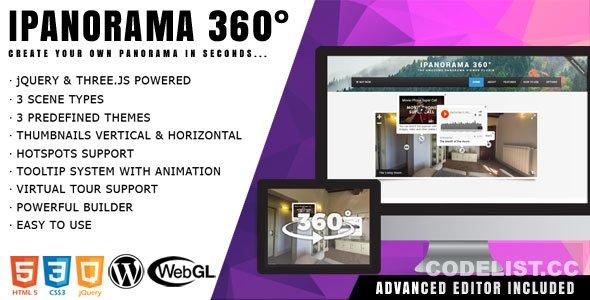 iPanorama 360° v1.5.16 - Virtual Tour Builder for WordPress