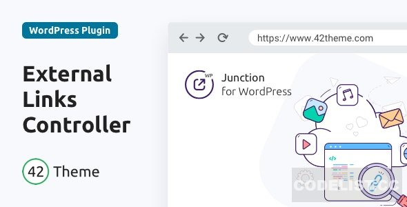 Junction v1.0.3 - External Links Controller for WordPress