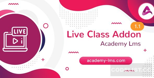 Academy LMS Live Streaming Class Addon v1.1