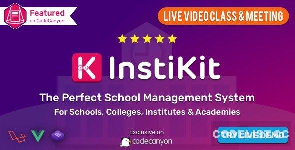InstiKit School v2.9.0 - School Management System & School ERP - nulled