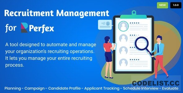 Recruitment Management for Perfex CRM v1.0