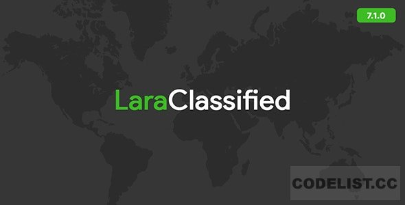 LaraClassified v7.1.0 - Classified Ads Web Application - nulled